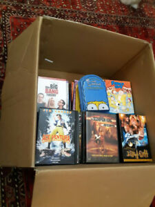 Collection of 50+ DVDs and 20+ TV Show Seasons for Sale!