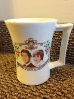 1981 Princess Diana & Prince Charles Glass Mug $10