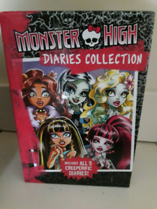 Monster high Diaries Collection of books