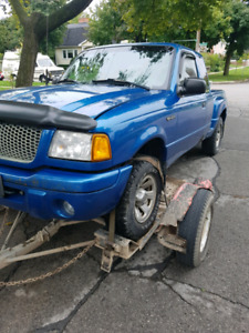 Parting out 2001 ranger edge step side