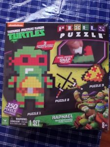 Teenage Mutant Ninja Turtles TMNT 350 PC Pixels Puzzle Raphael
