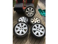 2004 Citroen C2 VTR 16inch Alloy Wheels And Tyres X5