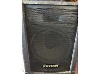 kustom speakers and amplifier