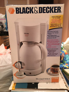 Black and Decker 8 Cup Insulated Carafe