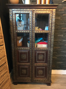 Gorgeous Moroccan Cabinet. Perfect Condition!
