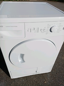 8kg Beko condenser tumble dryer
