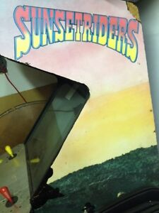 Arcade game sunsetrider