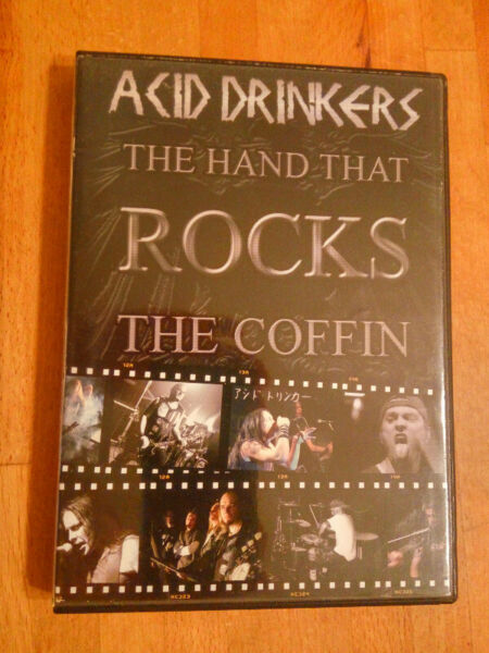 ACID DRINKERS - The Hand That Rocks The Coffin  -cd/dvd