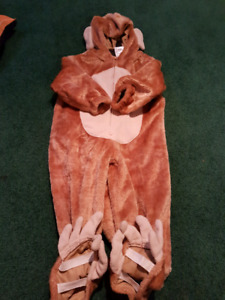 2T Fuzzy, Warm Monkey Costume