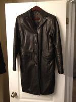 Women's Danier leather jacket. Small