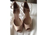 Nude also shoe