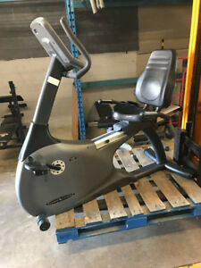 recumbent stationary bike 75% off retail price