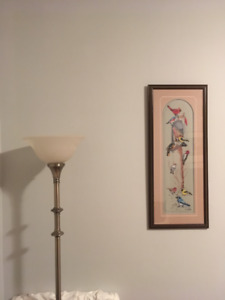Pair of floor lamps $60.00, for the pair