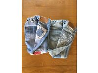 2 pairs Girls Next Jeans age 6