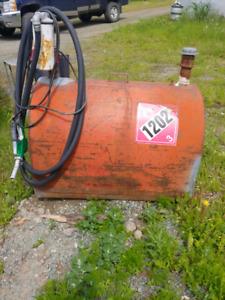 600+liter fuel tank   tidy tank by Westeel