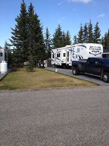 RV lot rental in RV golf course resort