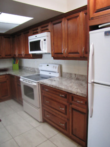 Furnished Room in a Condo for Rent-Female Only- Square One Area