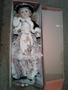 Brand New Extra Large Porcelain Doll