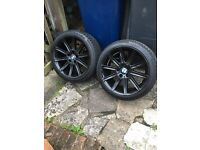 """BMW 5 series alloys 18"""" SOLD SOLD"""