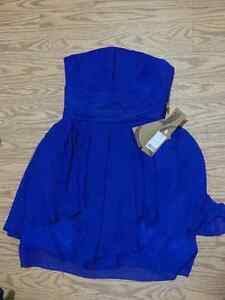Royal blue bridesmaid dress - unworn, with tag