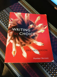 Writing by Choice. Great price! $40 or best offer!