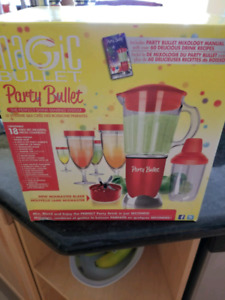Magic Bullet Party Bullet Brand New