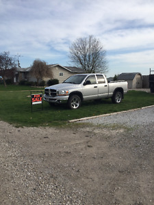 2006 Dodge Power Ram 1500 SLT Pickup Truck 4x4 V8 HEMI