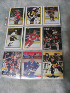 Assorted Bowman / Pro Set Hockey Cards