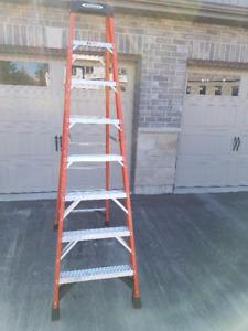 Industrial 8' Step Ladder for sale