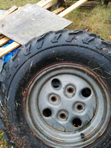 Set of spare tires from Arctic Cat 400EFI in great shape on rims