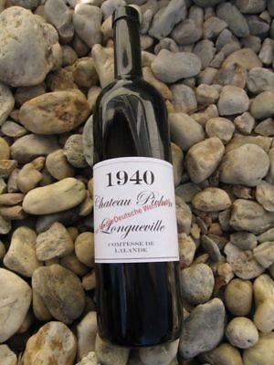 Wehrmacht Wein Etiketten 1940 4 Stück LW WW2 WKI WKII Wine Label Sticker WH
