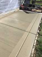 Concrete/Cement Work - Book For Spring Now !