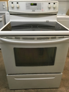 Smooth top -ranges $350 & up warranty/delivery/removal