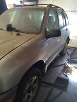 01 chevrolet tracker project