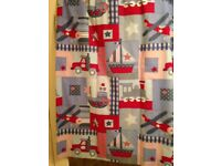 Boys bedroom curtains by Kids curtain company