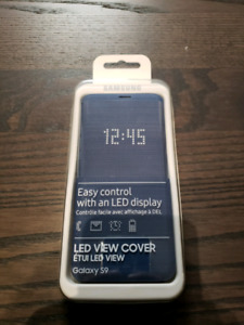 Brand New Samsung Galaxy S9 LED View Case