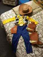 Toy Story Woody costume size 3 toddler