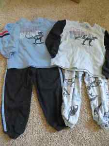 4 piece boys pajamas size 2/3