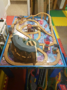 Wooden Thomas the train engine table