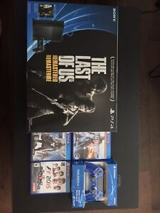 Sony PS4 The Last of Us Remastered 500GB Bundle For Sale!!!