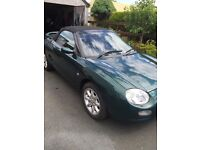 1999 MGF BRITISH RACING GREEN
