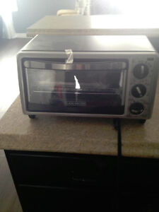 NEW BLACK N DECKER TOASTER OVEN