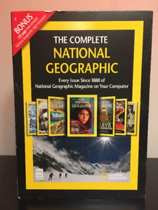 Complete National Geographic on 6 DVD-ROMs