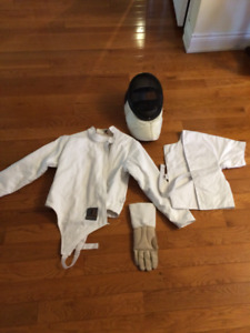 Youth beginner fencing equipment
