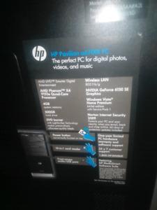 Quad core Hp desktop