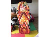 Snowboard sledge