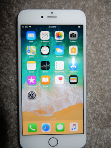 10/10 Condition Apple iPhone 6 Plus 64GB - Rogers