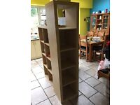 Ikea bookshelf - good condition tall 5 box unit £25