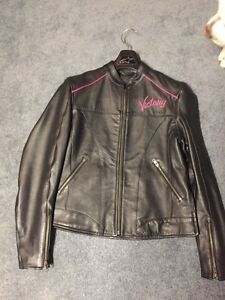 Brand New Victory leather ladies small jacket Strathcona County Edmonton Area image 2