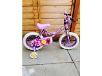Kids Apollo Girls Bike Cycle Good Condition 12inch